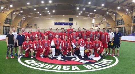 England Box Lacrosse Squad - 2015 FIL World Championships
